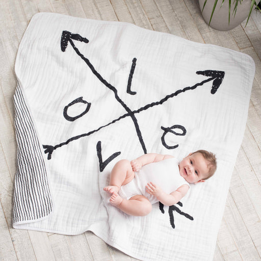 Aden + Anais Classic Dream Blanket Lovestruck 6064F