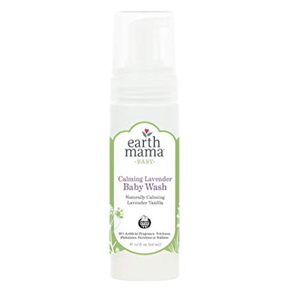 Earth Mama Angel Baby Calming Lavender Baby Wash 160ml