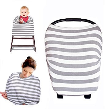 The Over.co Multi-use Baby Cover Evergrey Over