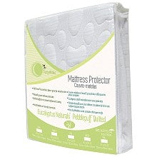 FortyWinks Soft Tencel Pebble Puff Organic Cotton Mattress Protector