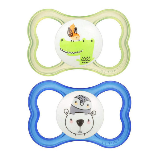 MAM Air Printed Extra Air Flow Pacifier 6m+ Boy Color