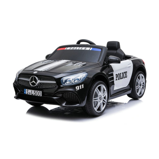 Mercedes Benz SL500 Police Car - Black (In Store Pick Up ONLY)