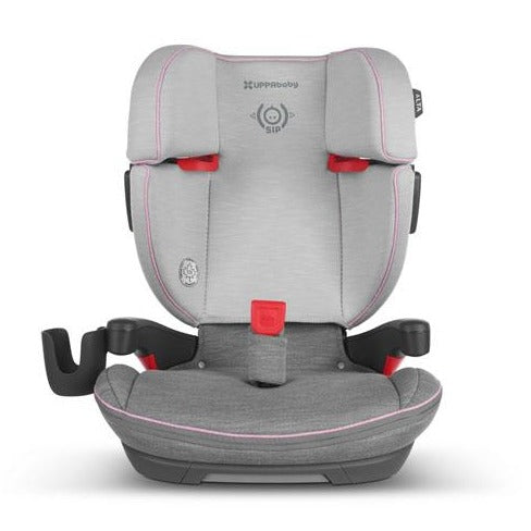 Uppababy ALTA High Back Booster Seat - Sasha(Heather Grey/Light Grey)