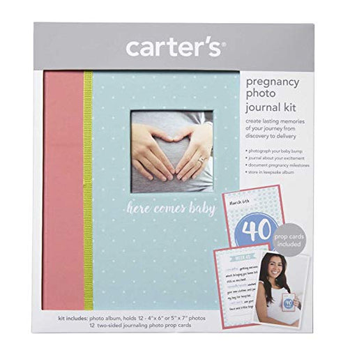 Carter's Pregnancy Photo Journal Kit, Here Comes Baby