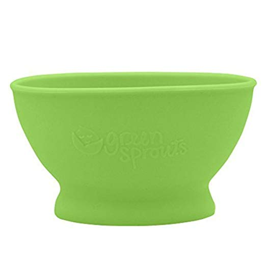 Green Sprouts Feeding Bowl Green 6m+