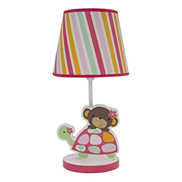Bedtime Originals Lamp W Shade Jungle Sweeties