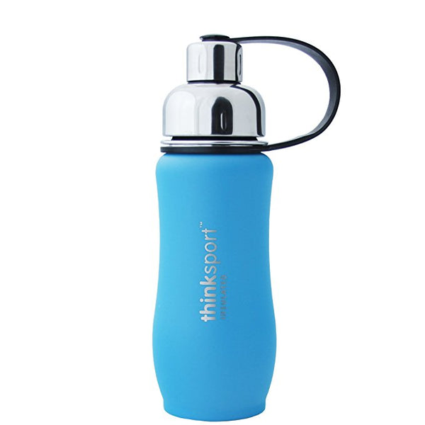 Thinksport Stainless Water Bottle Light Blue 350ml