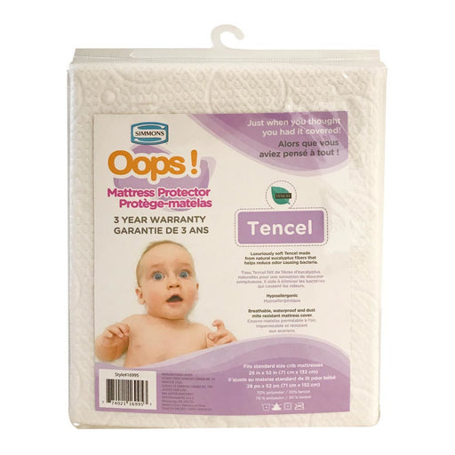 Simmons Oops! Tencel Mattress Protector