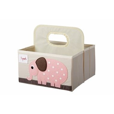 3 Sprouts Diaper Caddy Elephant