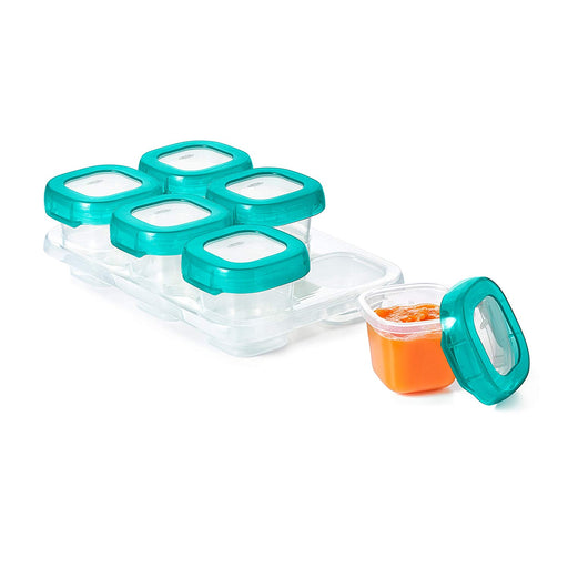 Oxo Baby Blocks Teal 2oz