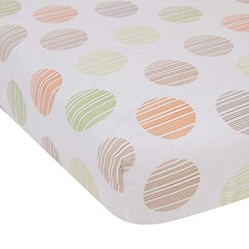 Lambs & Ivy Crib Sheet Woodland Tales Collection