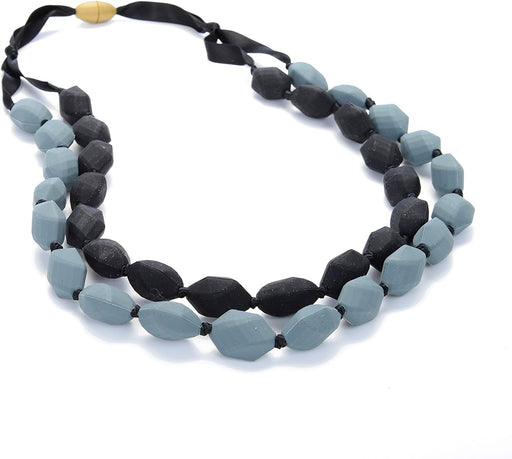 Chewbeads Astor Necklace - Black/Grey