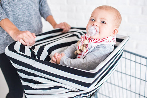 The Over.co Multi-use Baby Cover Loganberry Dot Over