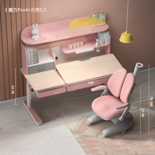 Igrow Study desk and chair ID246NX-C (PRO4) COMBO - Pink (INSTORE PICK-UP ONLY)