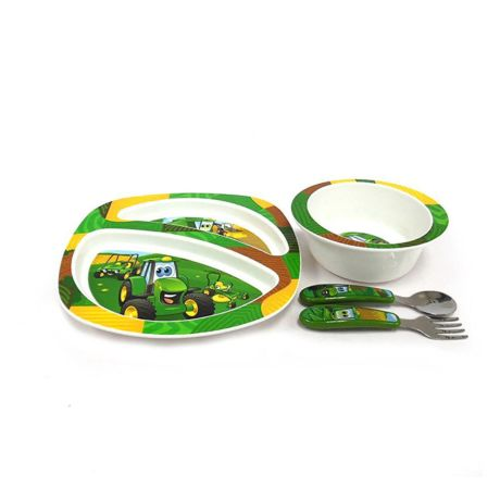 The First Years Feeding Set John Deere's Johnny Tractor and Friends 4PC
