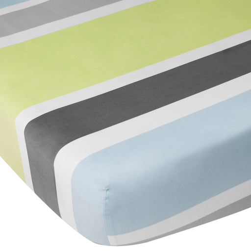 CoCalo Mix & Match Fitted Sheet - Julian Stripe