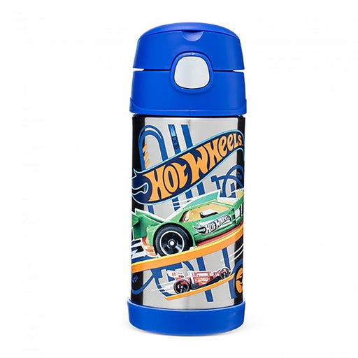 Thermos Funtainer Straw Bottle Hot Wheels