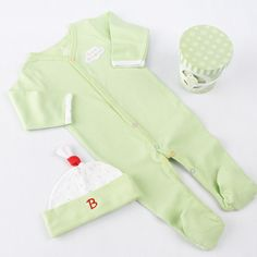 Baby Aspen Pint Of Pj's Green 0-6m