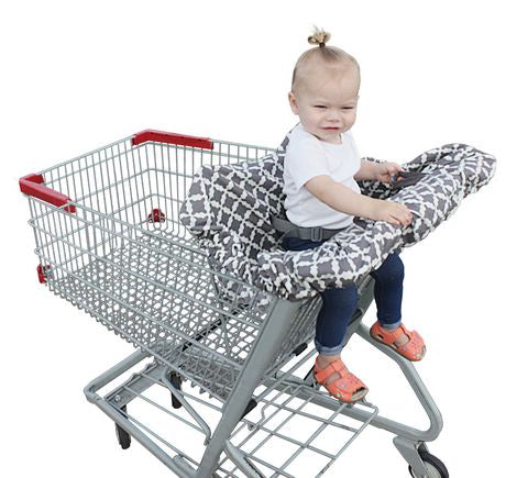 Jolly Jumper Deluxe Sani Shopper/Shopping Cart Cover with Safety Belt 717