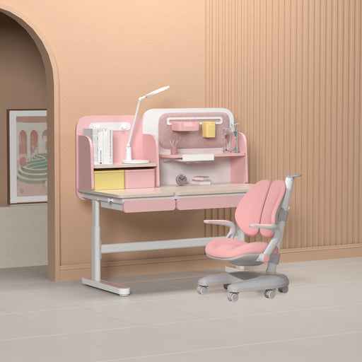 Igrow Study desk and chair ID246NX-S (ART) COMBO - Pink (INSTORE PICK-UP ONLY)
