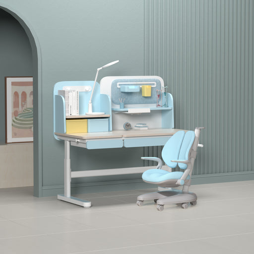 Igrow Study desk and chair ID246NX-S (ART) COMBO - Blue (INSTORE PICK-UP ONLY)