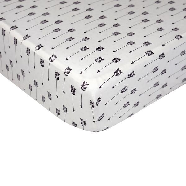Lolli Living Woods Fitted Crib Sheet - Arrow