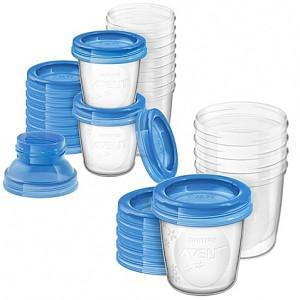 Avent Breast Milk Storage Cups 10*6oz