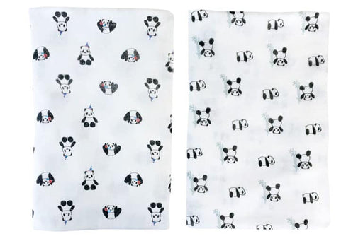 Nest Designs Bamboo Swaddle Blankies (2 Pack) – Panda