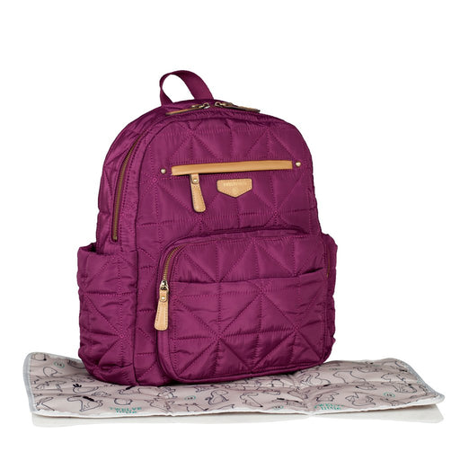 Twelve Little Companion Backpack- Plum