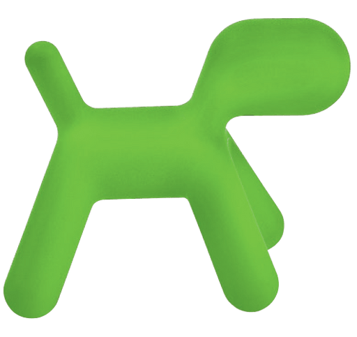 MAGIS DESIGN PUPPY ABSTRACT DOG - GREEN MEDIUM 1360C (MARKHAM INSTORE PICK-UP ONLY)