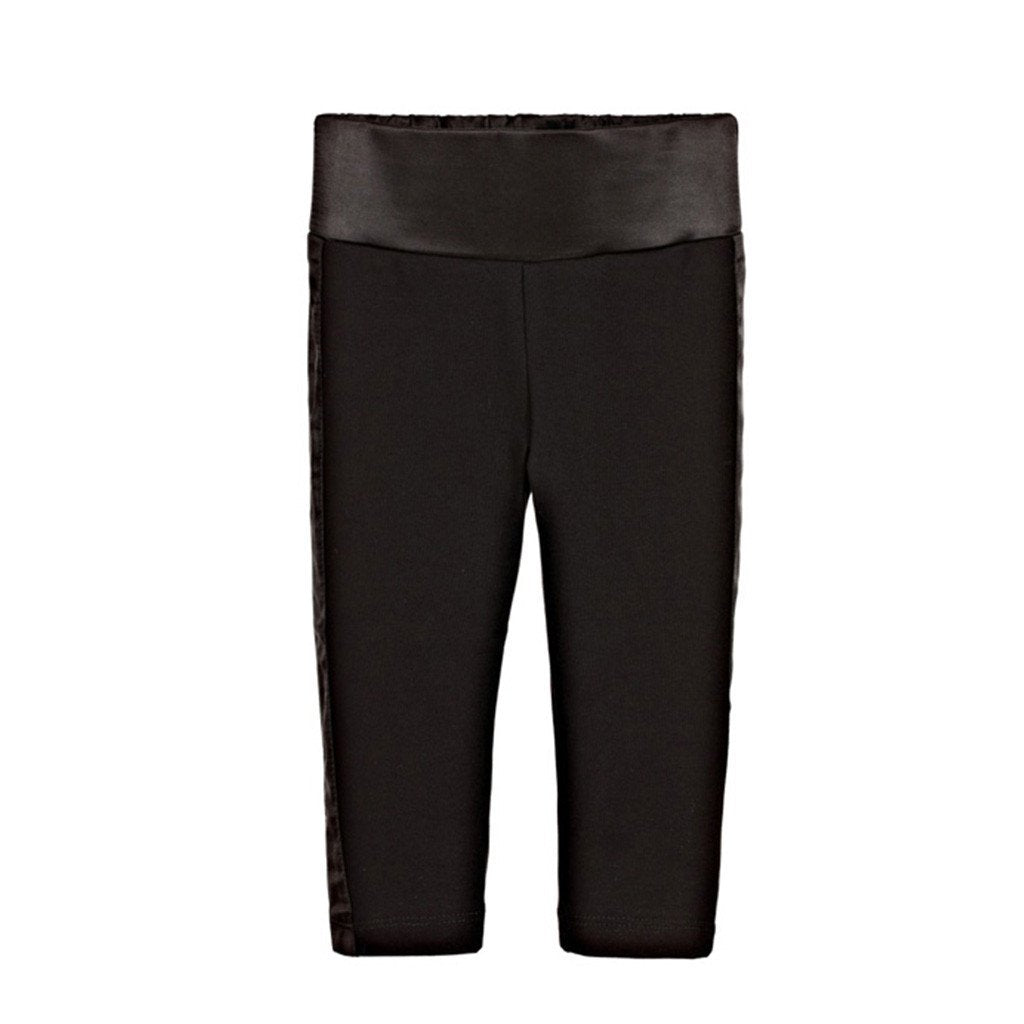The Tiny Universe Legging Tuxedo Pants Black 0027