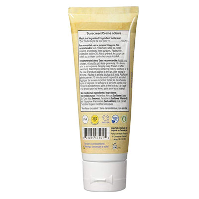 Badger Balms SPF 30 Sunscreen CREAM 87ml - Unscented (EXPIRED JAN 2021)