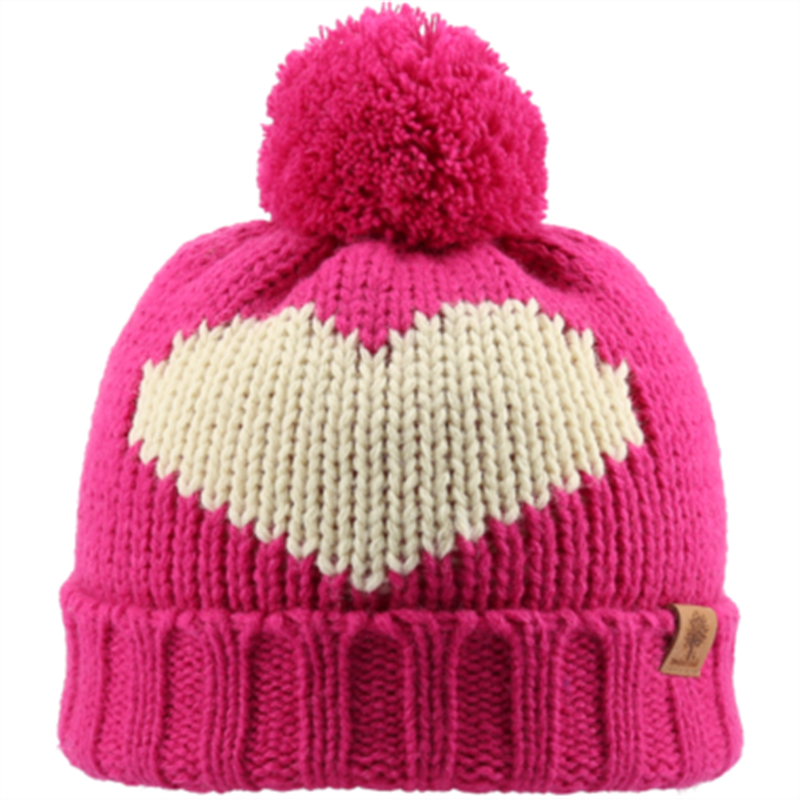 Bedford Road Knit In Hats Fuschia - CanaBee Baby