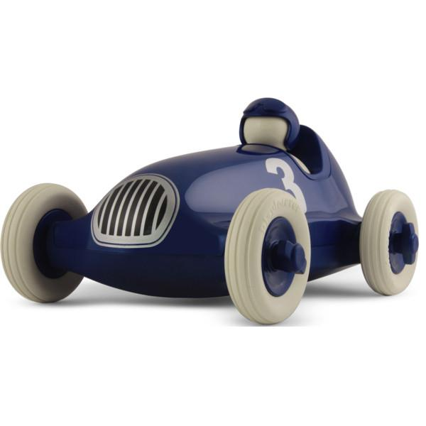 Playforever Bruno Racing Car - Metallic Blue - CanaBee Baby