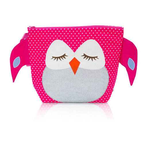 Buggygear Wet Dey Backpack Stella the Pink Owl - CanaBee Baby
