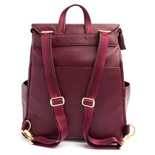 Freshly Picked Classic Diaper Bag Burgundy