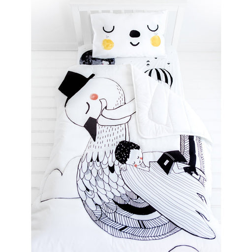 Rookie Humans Toddler Comforter - Swan