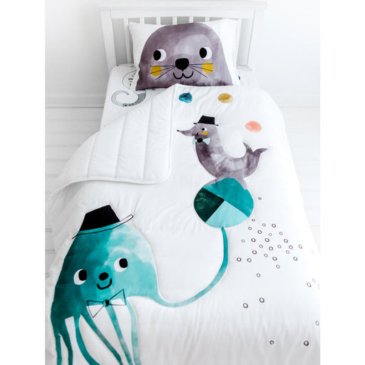 Rookie Humans Toddler Comforter Jellyfish