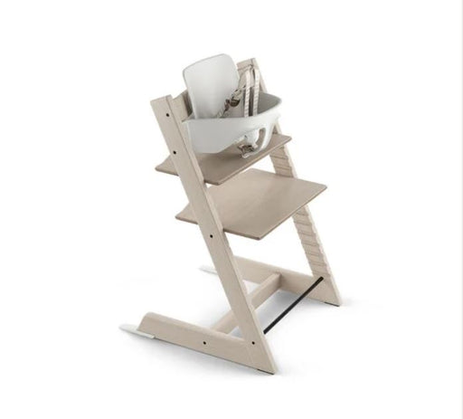 Stokke Tripp Trapp Highchair with Babyset & Harness Whitewash