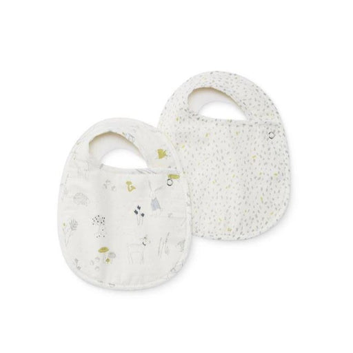 Pehr Bib Set of 2 - Magical Forest & Multi Speck