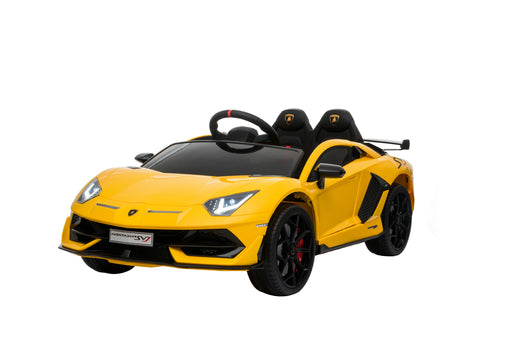Lamborghini Aventador SVJ- Yellow (In Store Pick Up ONLY)