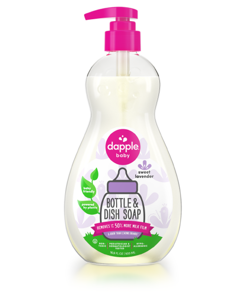 Dapple Baby Bottle& Dish Liquid Lavende 500ml (80010)