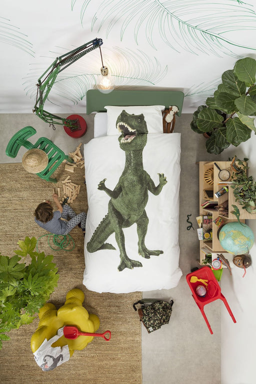 Snurk Dinosaur Duvet Cover Set - Full/Queen