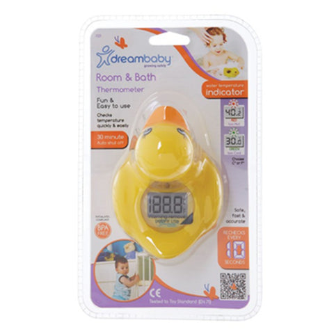 Dream Baby Room& Bath Thermometer Duck - CanaBee Baby