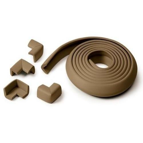 Kidco Foam Edge and Corner Protector - Brown - CanaBee Baby