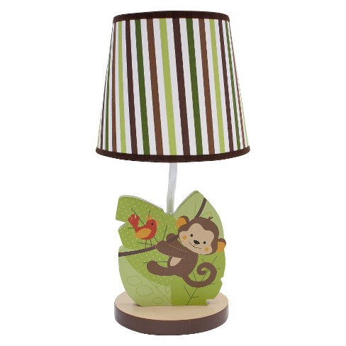 Bedtime Originals Lamp W Shade Jungle Buddies