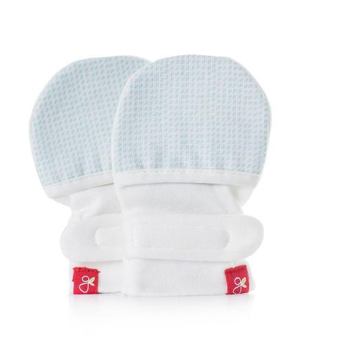 Goumikids Baby Mitts - Aqua - CanaBee Baby