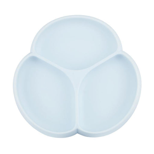 Glitter&Spice Suction Plate Ice Blue