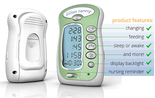 Itzbeen Baby Care Timer Green