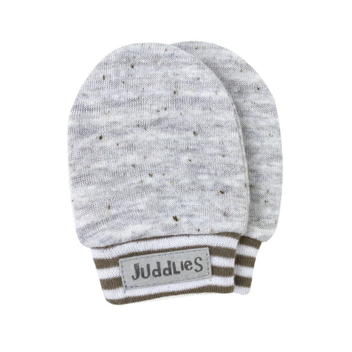 Juddlies City Scratch Mitts Leaside Greige JL431
